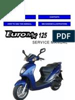 sym euro mx 125 en carburetor motor oil rh scribd com sym euro mx 125 manual pdf SYM Scooter 125