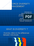 essays on human resource management perspectives on diversity management In this perspective, diversity management becomes very important for organizations to better utilize the diverse workforce to increase organizational performance therefore diversity management represents a shift away from activities and assumptions based on affirmative actions to human resource management.