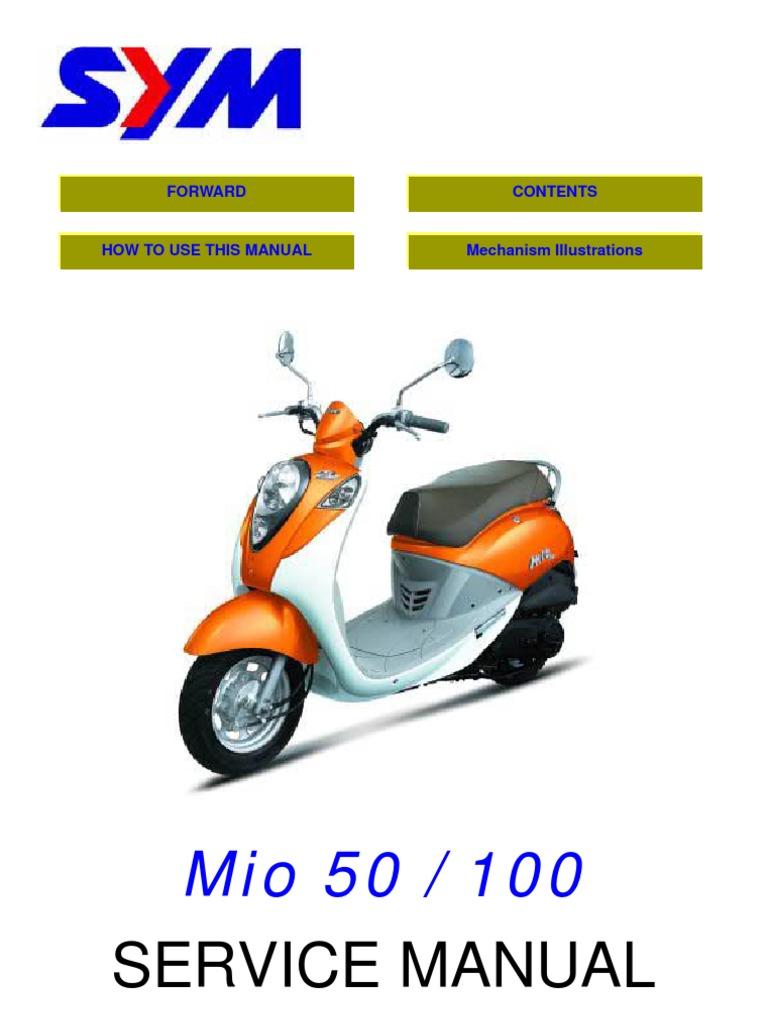 Sym Mio 50