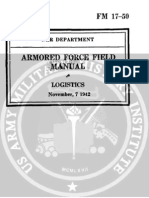 1942 US Army WWII Logistics 102p.