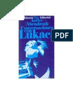 16462954 Abendroth W Holz H H Kofler L Conversaciones Con Lukacs 1966