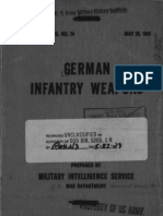 1943 US Army WWII German Infantry Weapons 203p.