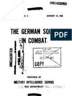 1943 US Army WWII German Squad in Combat 129p.