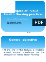 Principles of Public Health Nursing Practice_ppt Lecture