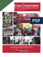 Chinatown Gentrification Survey 2009