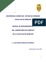 Manual de Procedimientos Laboratorio de Computo