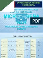 Microenseñanza Modulo VII CP FÉLIX PAGLIARO ROMERO IVA PROFESIONALES