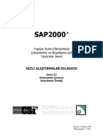 Hizli Alistirma -Betonarme Reinforced Concrete Sap2000