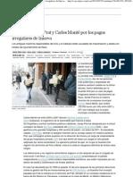 2013.02.28 EL PAIS - Detenidos Josep Prat y Carles Manté por los pagos irregulares de Innova