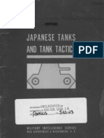 1944 US Army WWII Japanese Tank and Tactics 89p.