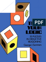George J. Summers - Test Your Logic (50 Puzzles)