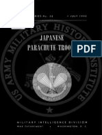 1945 US Army WWII Japanese Parachute Troops 68p.