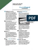 RapidCheck SRB Kit