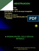 Dr. Portugal Transtornos Menstruales