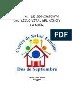 Manual de Procedimiento Programa Infantil Final