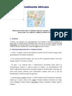 Apostila - Continente Africano (Simplificada)