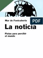 Fontcuberta Mar de - La Noticia