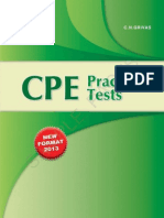 Cpe Practice Tests St 2013