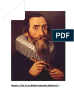 Kepler y Las Leyes Del Movimiento Planetario