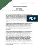 Antonelli, Nature & Purpose of Numbers [21 pgs]