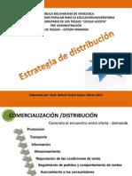 Administración de Mercadeo 4, Distribución
