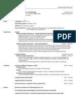 Ryan Mentley - Resume