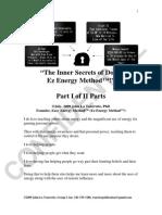 Part I of Part II Inner Secrets of the Ez Energy Method Doc