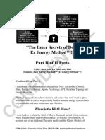 Part II of Part II Inner Secrets of the Ez Energy Method Doc