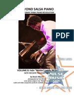 Sample Chart for eBook Beyond Salsa Piano Vol8