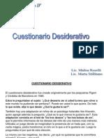 Cuestionario Desiderativo. Roselli-Stillitano