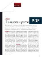 China La Nueva Superpotencia