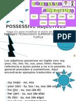 Exposicion de Ingles Possessive Adjectives