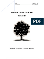Cronicas de Adultos nº16 - febrero 2005