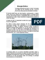 Energia Eolica - Carlos Hugo Zelaya