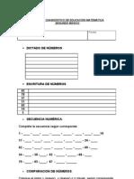 Prueba de Diagnostico de Educacion Matematica Segundo Basico (1)