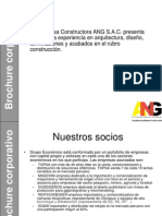 Brochure Corporativo ANG