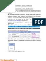Instructions OPSC Civil Judges Posts