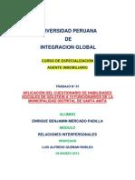 Trabajo de Habilidades Sociales - Modulo Relaciones Interpersonales