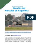Fuerza Aérea Argentina- Cuatro décadas del Hercules en Argentina