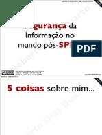 Segurança da Informação - SPED