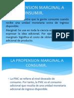 La Propension Marginal a Consumir