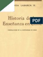 Amanda Labarca Historia de la Enseñanza en Chile