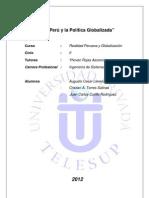 El Perú y la Política Globalizada