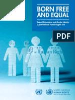 orientacion sexual... identidad de genero.. leyes en derechos humanos internacionales.