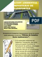 Legislacion Ambiental Del Ministerio de Transportes[1]