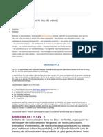 Definition Et Signification de Plv