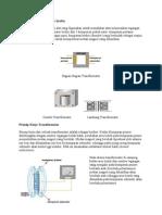 Komponen Transformator serta prinsip kerjanya