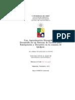 Una Aproximación Etnográfica al Desarrollo de un Sistema de Gestión de Emergencias y Desastres para la Comuna de Quilpué