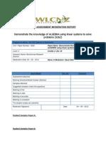post assessment moderation report.docx