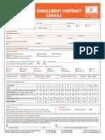 ELS Enrollment Contract Form 2012 y 2013